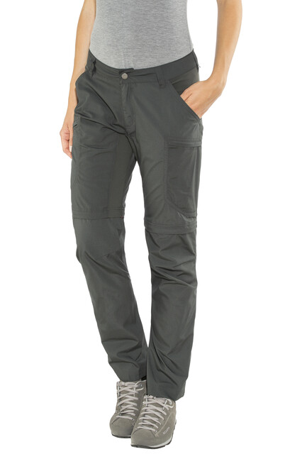 Lundhags W's Nybo Zip Off Pants Charcoal